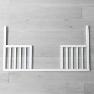 Woodies Safe Dreams - Latura Deschisa DayBed Pentru Patut Noble Alb 120 x 60 cm