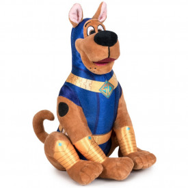 Jucarie din plus si material textil Scooby blue costume, Scooby Doo, 29 cm