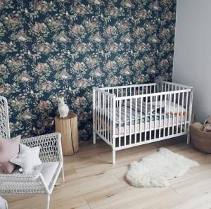 Patut Bebe Din Lemn de Pin Woodies Dream Cot , 120 cm x 60 cm, Chic, Confortabil si Sigur Pentru Micut