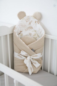Tiny Star - Paturica de Infasat BabyHorn Sweet Grain & Ivory