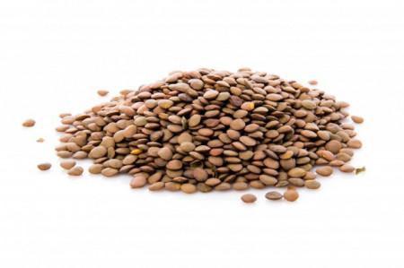 Poze Semințe de linte maro 200g