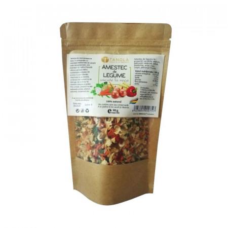 Poze Amestec de legume deshidratate la rece 90g (pungă)