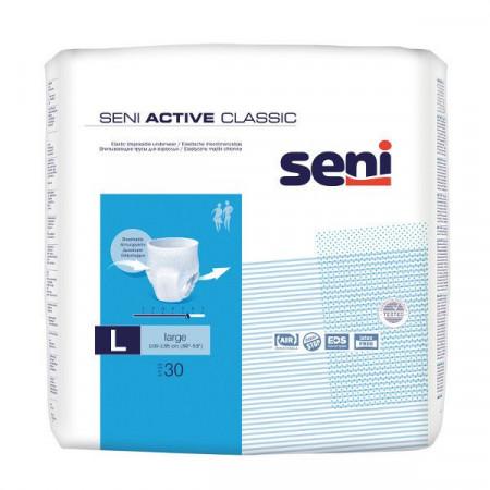 Poze Scutece Seni Active Classic Large, tip chiloti, 30 buc.