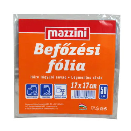 Poze Celofan alimentar 17*17 cm