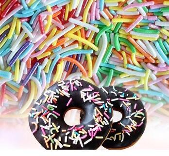 Poze Ornamente pentru tort (betisoare colorate) 100g