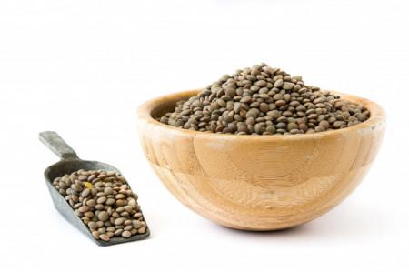 Poze Semințe de linte verde 250g