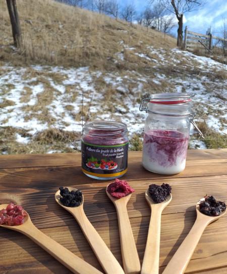 Poze Pulbere din fructe de la munte 100g