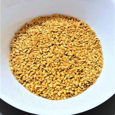 Poze Semințe de in auriu 500g