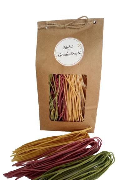 Poze Spaghete colorate grădinărești 200g
