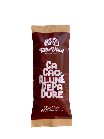 Poze Baton cu Cacao si Alune de padure: curmale, migdale, alune de pădure și cacao - 45g