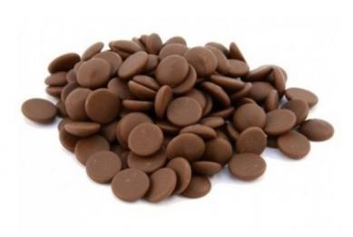 Poze Ciocolată neagră Folkao 52% (bănuți) 200g