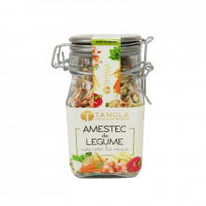 Amestec de legume deshidratate la rece 90g (borcan premium)