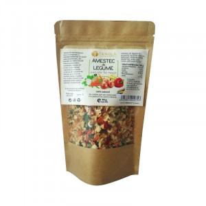 Amestec de legume deshidratate la rece 90g (pungă)