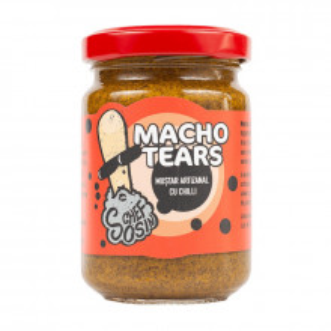 Muștar indian cu chilli Macho Tears 150g