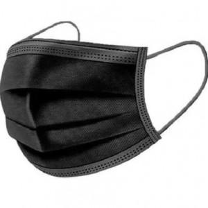 SET 50 bucăți maști faciale negre, de unică folosință, 3 straturi