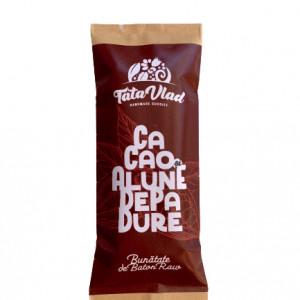 Baton de Cacao: curmale, migdale, alune de pădure și cacao - 45g
