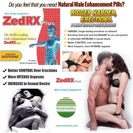 ZedRX Plus™ - Penis Enlargement Pills - 6 Boxes