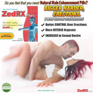 ZedRX Plus™ - Penis Enlargement Pills - One Box - 60 Tablets