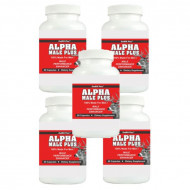 ALPHA MALE PLUS - Sexual Performance Enhancer - 5 Bottles