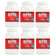 ALPHA MALE PLUS - Sexual Performance Enhancer - 6 Bottles