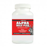 ALPHA MALE PLUS - Sexual Performance Enhancer - 60 Capsules - One Bottle