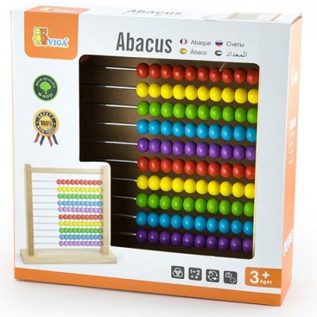 Drvena računaljka ABACUS