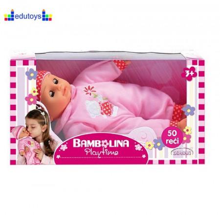 Lutka BAMBOLINA priča 50 reči 33 cm