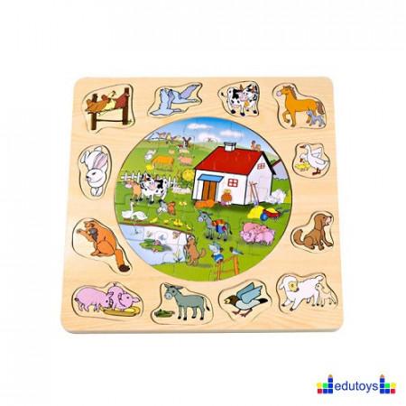 Puzzle umetaljka FARMA
