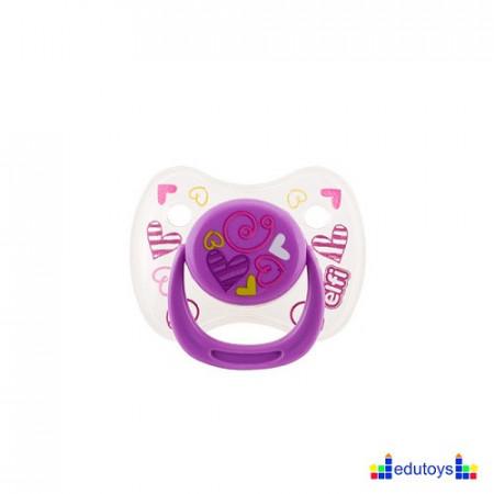 Silikonska varalica BABY DREAM 0-6 lila