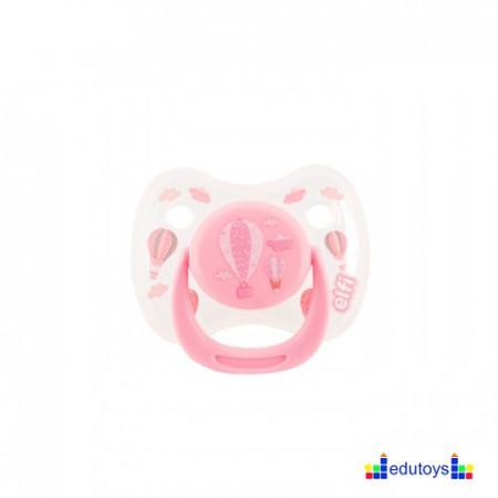 Silikonska varalica BABY DREAM 6-18 pink