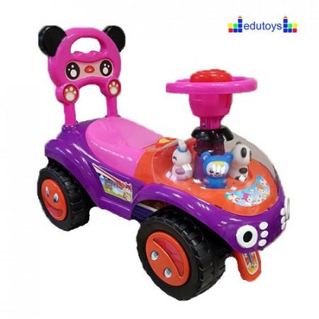 Guralica sa figurama Bebi panda pink
