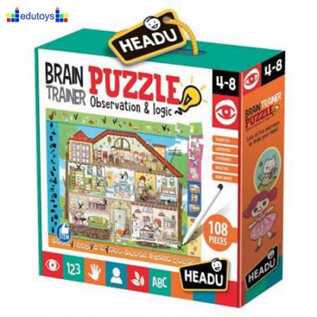 Igra opažanja i logike - Brain trainer 4+