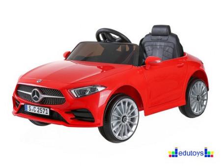 Mercedes crveni auto na akumulator