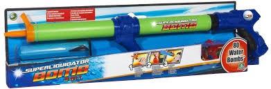 Puska na vodu aqua bomb