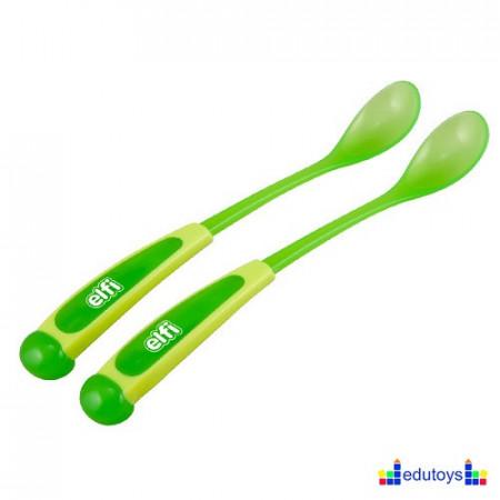 Set kašika sa dugačkom drškom zelena 2 kom