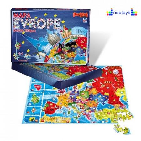 Drustvena igra mapa Evrope