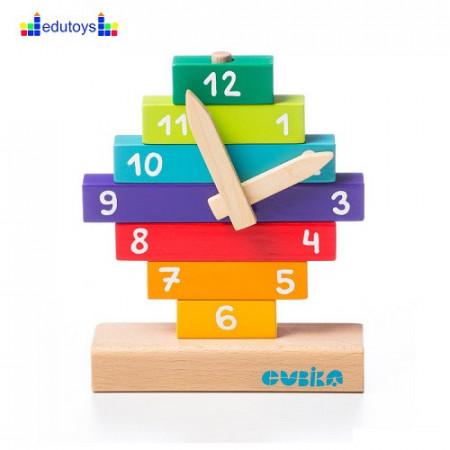 EDU drveni sat 10 elemenata