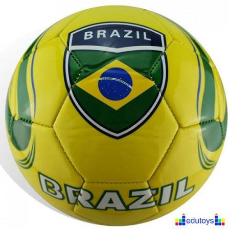 Fudbalska lopta sa motivima Brazila