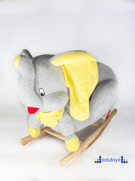 Njihalica slon - grey yellow
