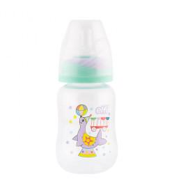 "Plastična flašica SUPER CLEAR ""CIRCUS"" 150 ml (foka) silikonska cucla"