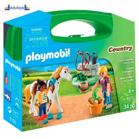 Playmobil Country set za negu konja