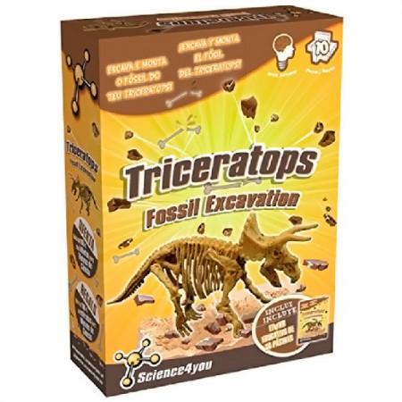 Iskopaj Triceratopsa Science4you