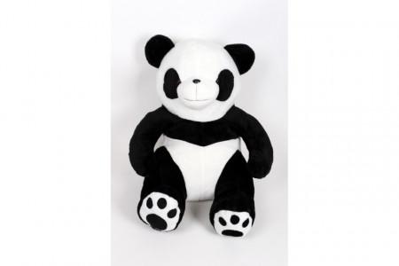 Panda plišani 120 cm sa vezenim šapama