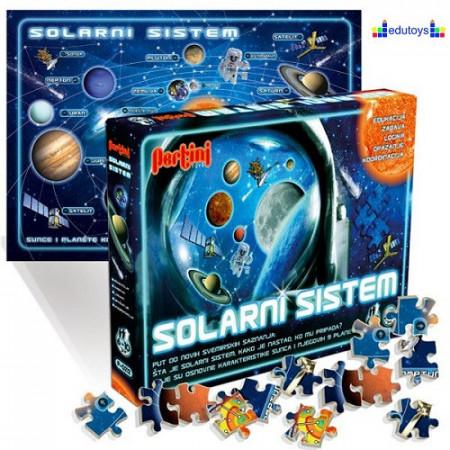 Puzzle Solarni sistem 204 elementa