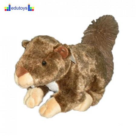 Veverica plišana 26 cm