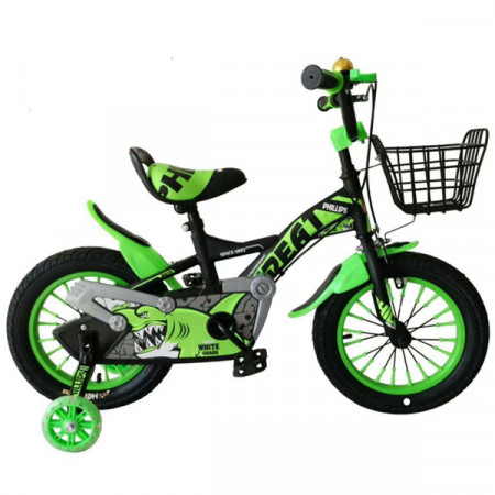 """Dečiji bicikl TFBOYS 14"""" zeleni"""