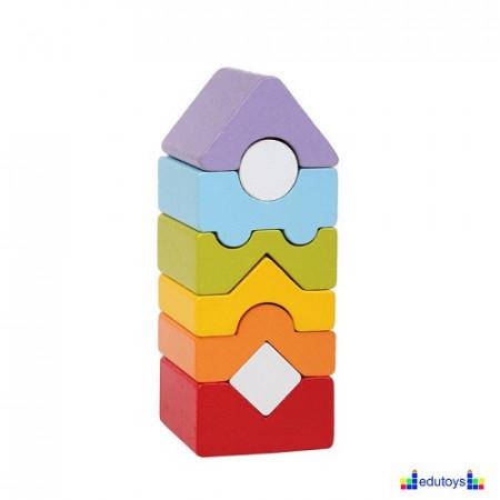 EDU Kula drvena - osam elemenata
