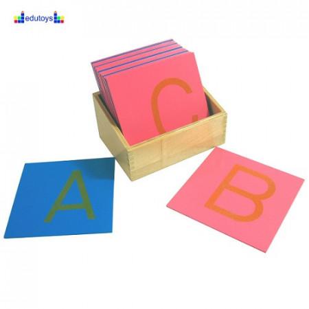 Montesori Velika štampana latinična slova za lagano učenje