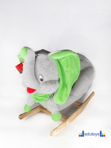 Njihalica slon - grey green
