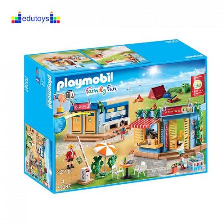 Playmobil Family Fun Kamp naselje